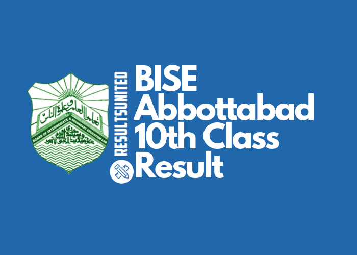 BISE Abbottabad 10th Class Result