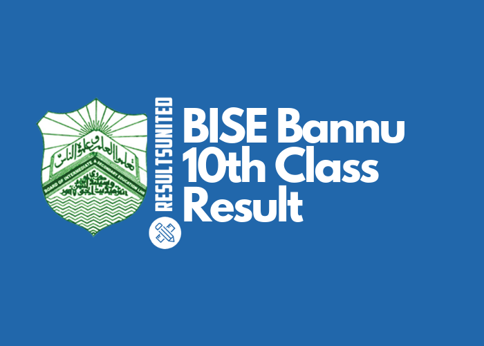 BISE Bannu 10th Class Result