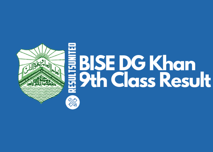 BISE DG Khan 9th Class Result