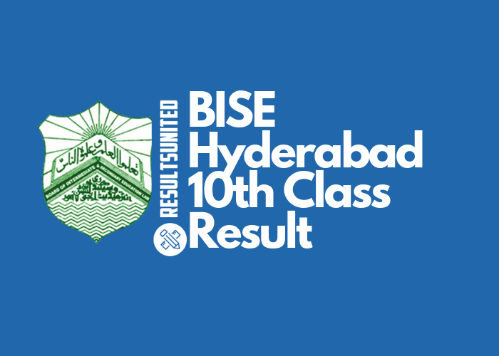 BISE Hyderabad 10th Class Result