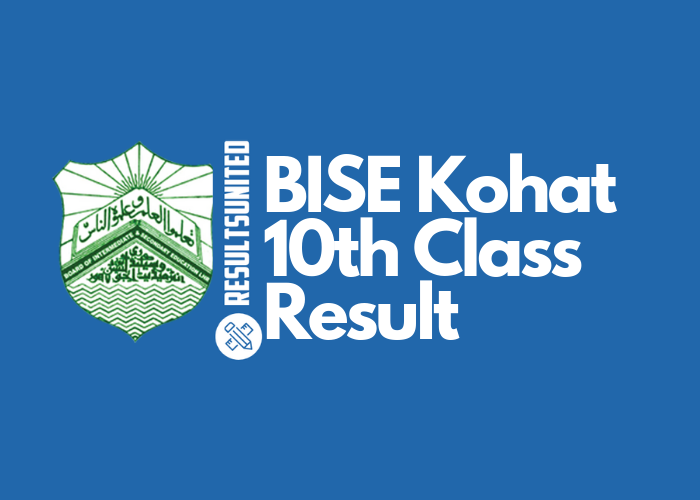 BISE Kohat 10th Class Result