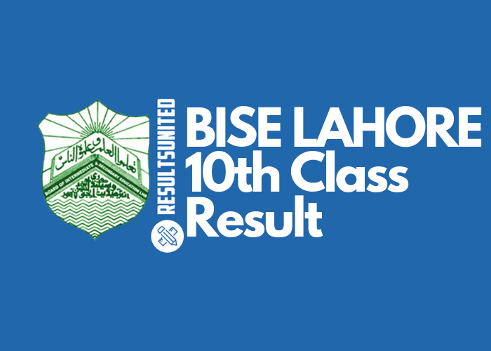 BISE Lahore 10th Class Result 2019