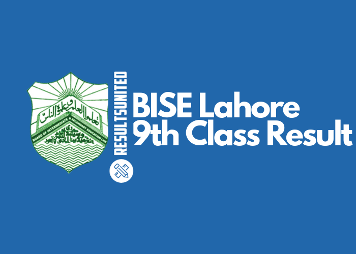 BISE Lahore 9th Class Result