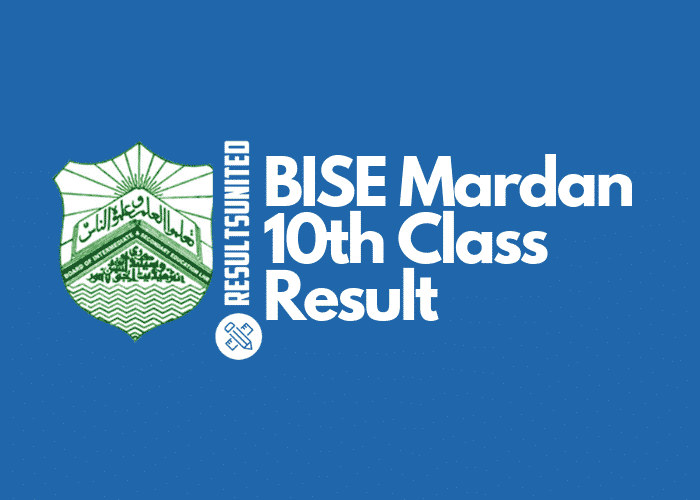 BISE Mardan 10th Class Result