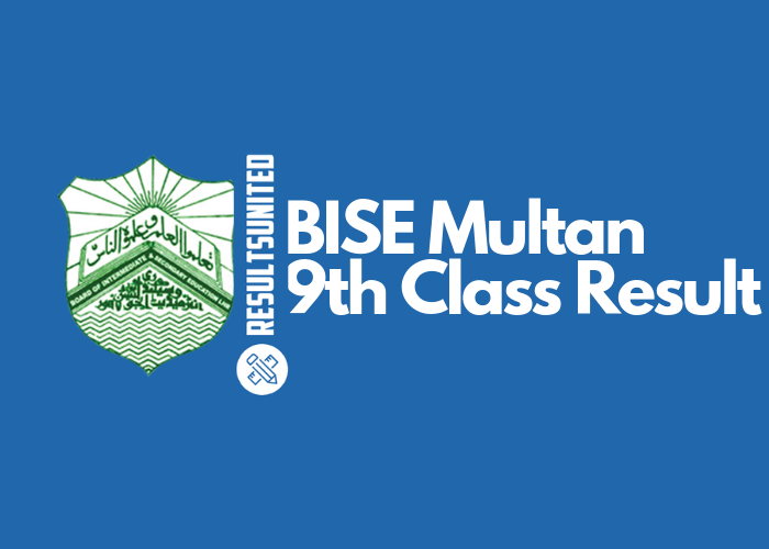BISE Multan 9th Class Result