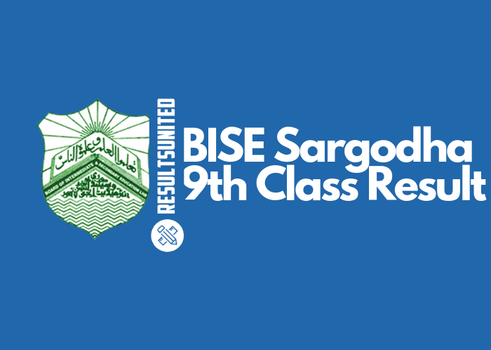BISE Sargodha 9th Class Result