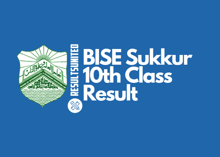 BISE Sukkur 10th Class Result
