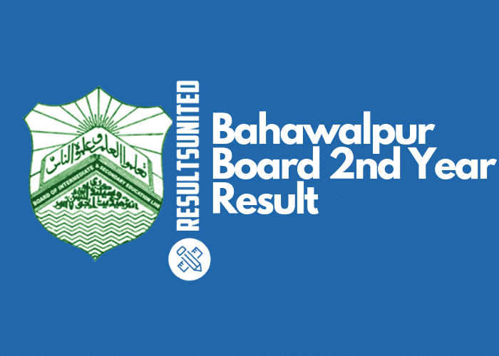Bahawalpur Board 2nd Year Result
