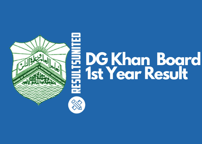 DG Khan Board 11th Class Result