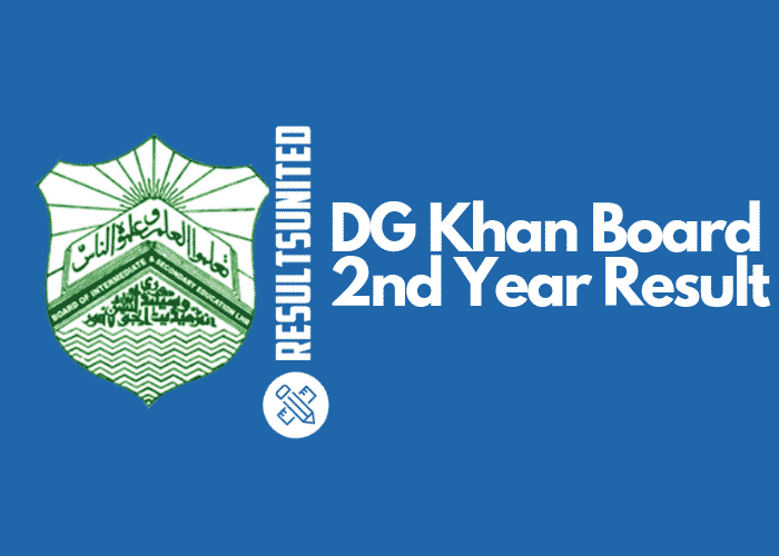 DG Khan Board 2nd Year Result