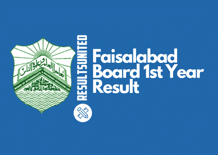 Faisalabad Board 11th Class Result