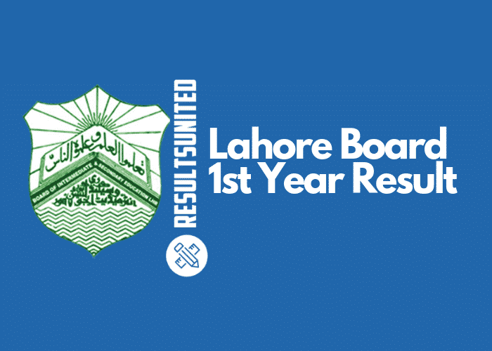 Lahore Board 11th Class Result