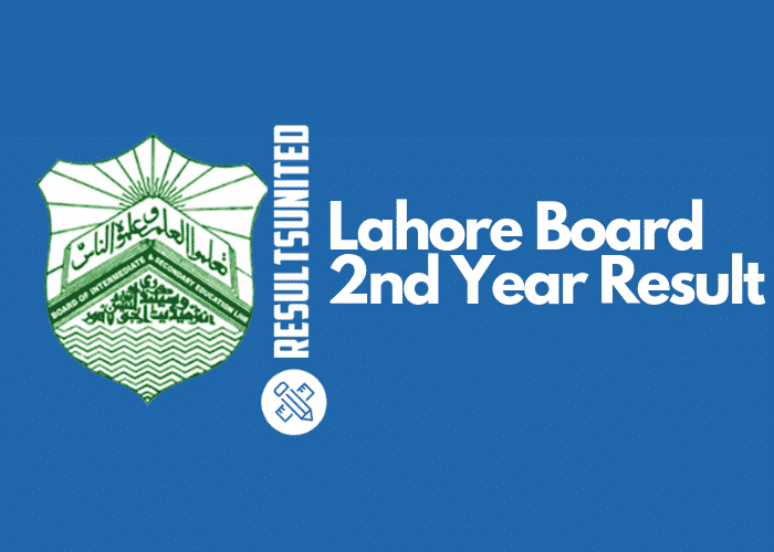 Lahore Board 2nd Year Result