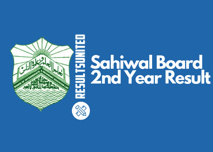 Sahiwal Board 2nd Year Result