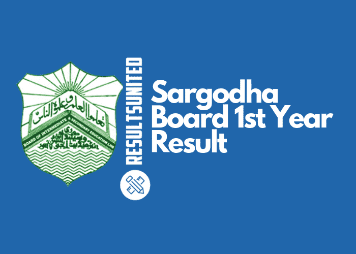 Sargodha Board 11th Class Result