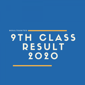 9th Class Result 2020