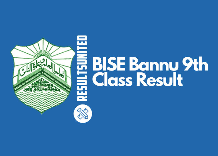 BISE Bannu 9th Class Result