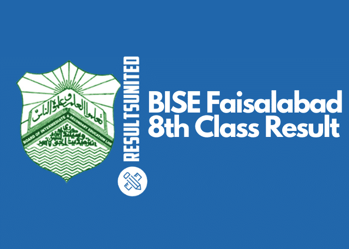 BISE Faisalabad 8th Class Result