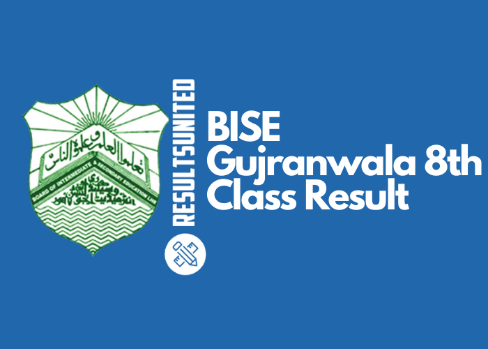 BISE Gujranwala 8th Class Result