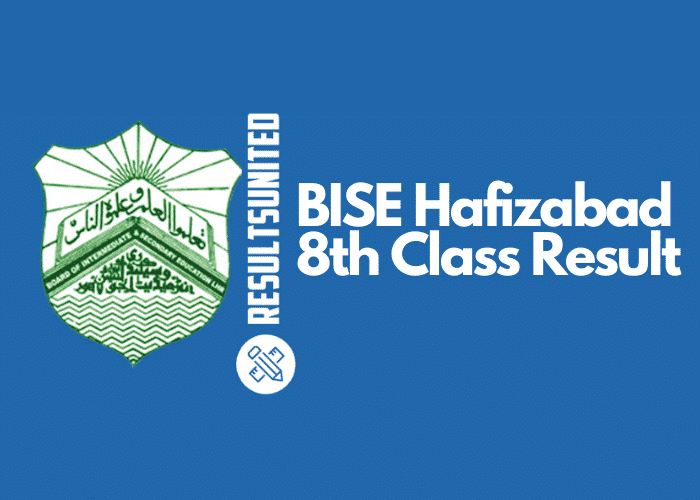 BISE Hafizabad 8th Class Result