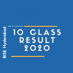 BISE Hyderabad 10th Class Result 2020
