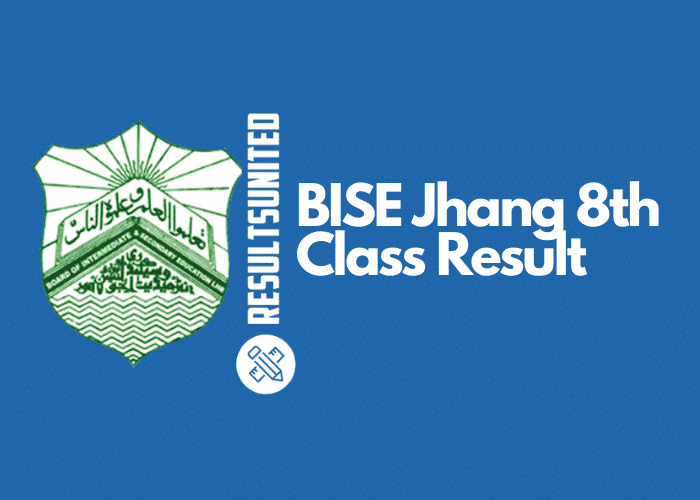 BISE Jhang 8th Class Result