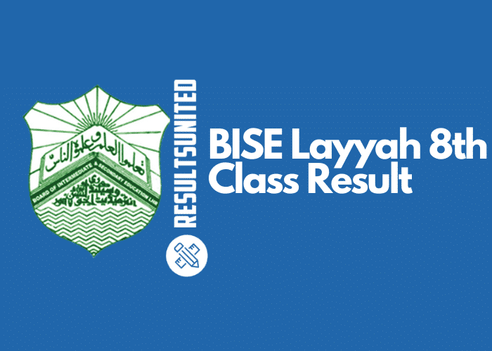 BISE Layyah 8th Class Result