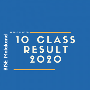 BISE Malakand 10th Class Result 2020