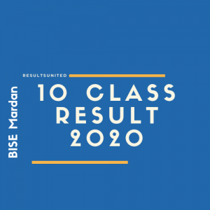 BISE Mardan 10th Class Result 2020