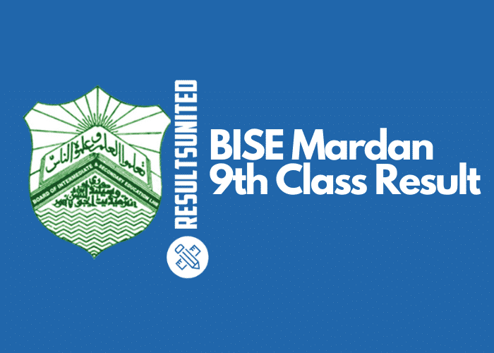 BISE Mardan 9th Class Result