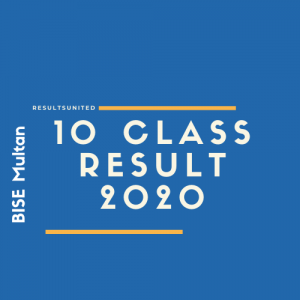 BISE Multan 10th Class Result 2020