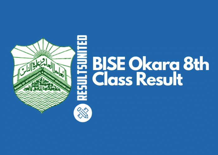 BISE Okara 8th Class Result