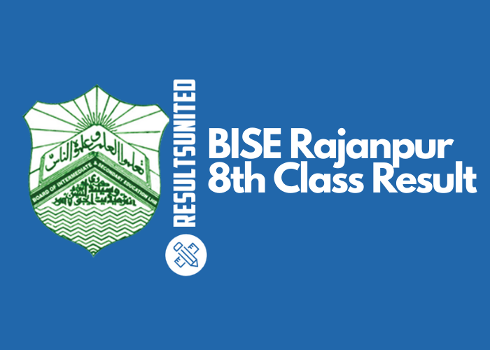 BISE Rajanpur 8th Class Result