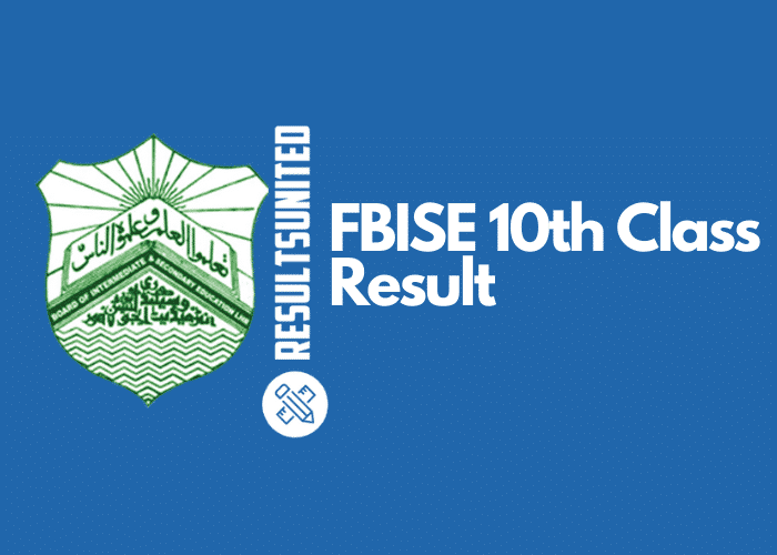 FBISE SSC PART-II Result