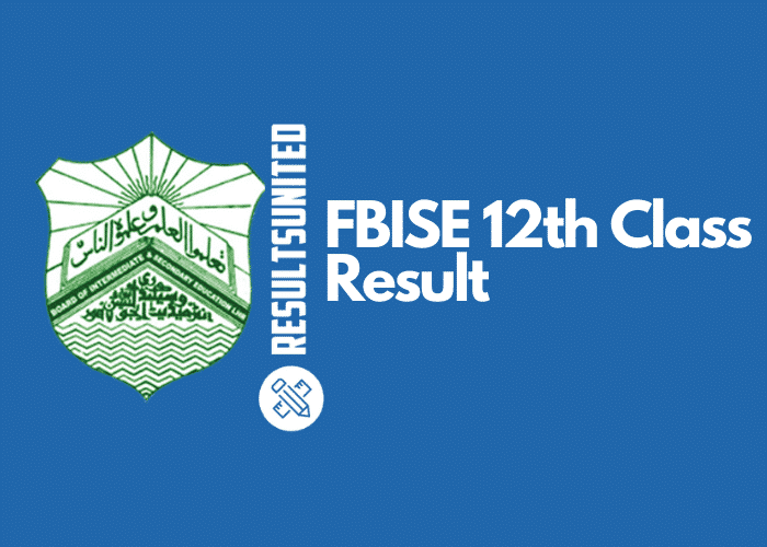 FBISE 12th Class Result