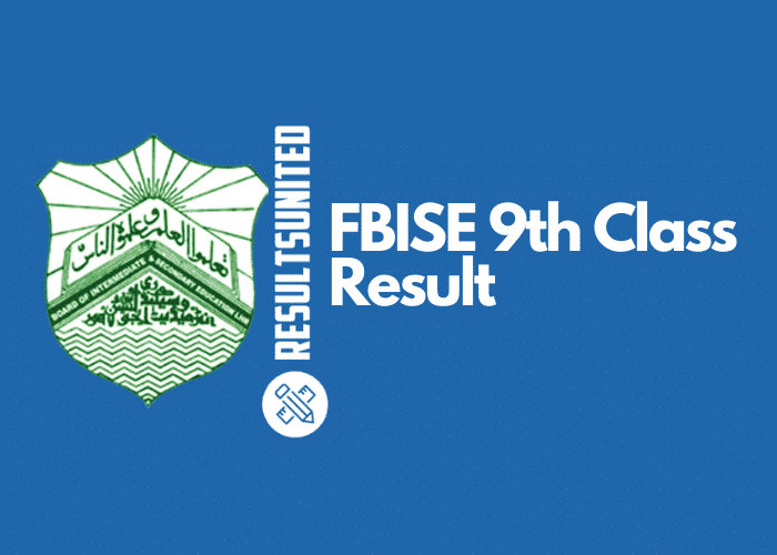 BISE Federal 9th Class Result