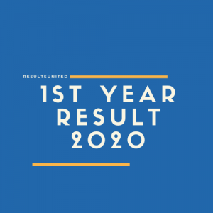 1st Year Result 2020