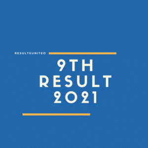 9th Class Result 2021