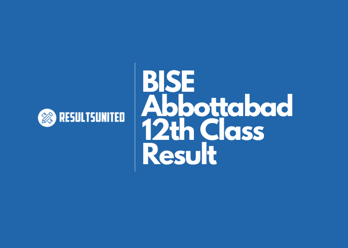 BISE Abbottabad 12th Class Result